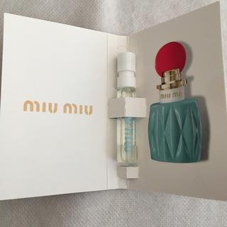 ミュウミュウ(miumiu)のお値下げ!miumiu☆オードパルファム(香水(女性用))