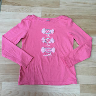 ジンボリー(GYMBOREE)の美品 10T ジンボリー 長袖Tシャツ ロンT 140 145 キャンディ(Tシャツ/カットソー)