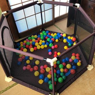 ベビーサークル ボールプール おもちゃ テント?
