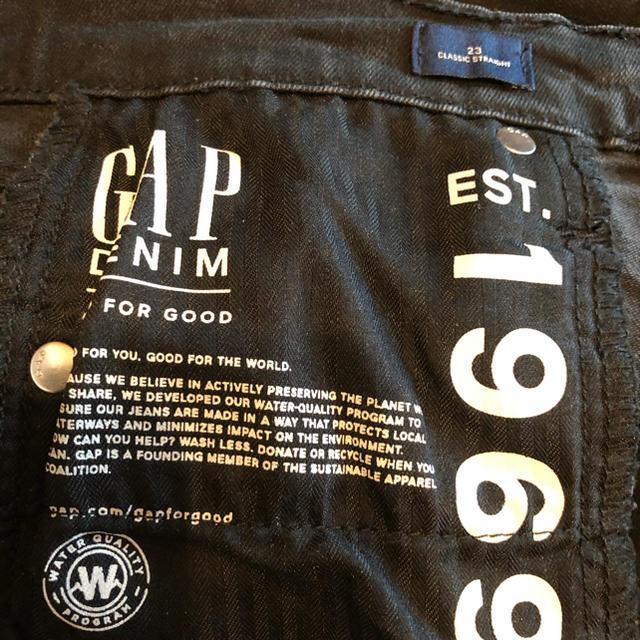 GAP(ギャップ)のGAP ブラックデニム レディースのパンツ(デニム/ジーンズ)の商品写真