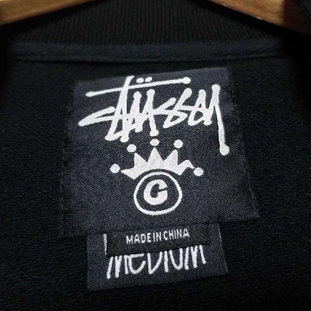 STUSSY(ステューシー)のSTUSSY スウェットスタジャン メンズのジャケット/アウター(スタジャン)の商品写真