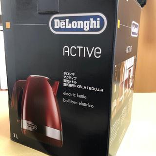 デロンギ(DeLonghi)の未使用 デロンギ アクティブ電気ケトル(電気ケトル)