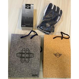 ビーエムダブリュー(BMW)のBMW タンブラー 男性用手袋 MINI紙袋4点セット(タンブラー)