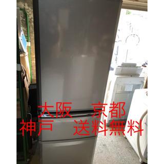 ミツビシ(三菱)の三菱 ノンフロン冷凍冷蔵庫   MR-C37EZ-AS1(冷蔵庫)