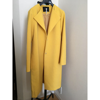 ANAYI - allureville 黄色 ロングコート