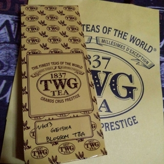 TWG 茶葉50g  ゲイシャブロッサムティー(茶)
