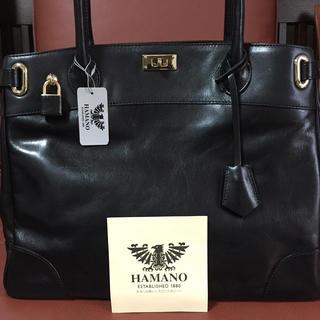 ハマノヒカクコウゲイ(濱野皮革工藝/HAMANO)の濱野 トートバッグ 黒(トートバッグ)