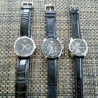 Emporio Armani - アルマーニ ARMANI ドルガバ D&G クロノグラフ メンズ腕時計 電池新品
