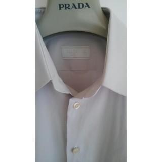 プラダ(PRADA)のPRADA グレーシャツ(シャツ)