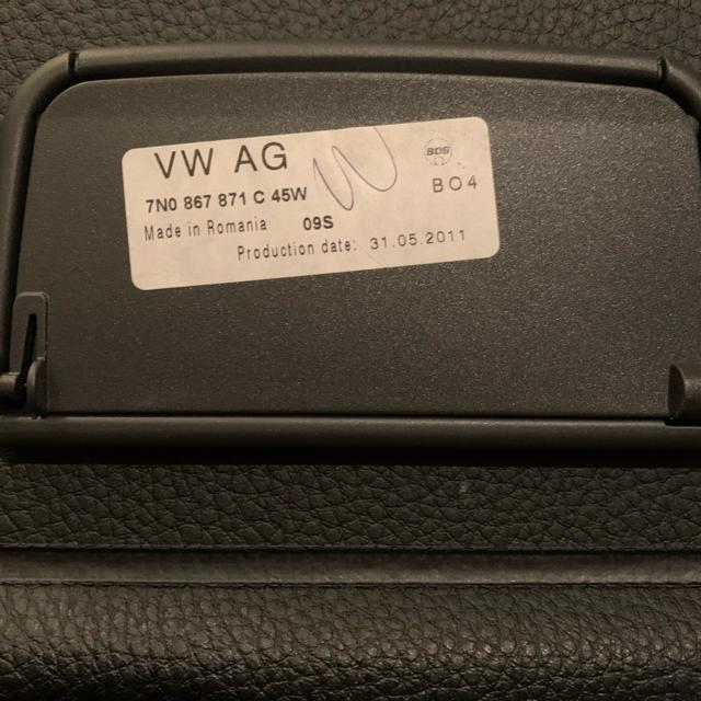AUDI(アウディ)のアウディA3 トランクシェード 自動車/バイクの自動車(車種別パーツ)の商品写真