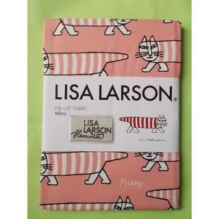 リサラーソン(Lisa Larson)のリサラーソン Lisa Larson 手芸用生地 Mikey ピンク(生地/糸)