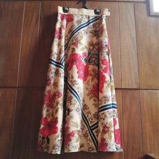 GRACE CONTINENTAL - グレース コンチネンタル ボタニカル スカーフスカート