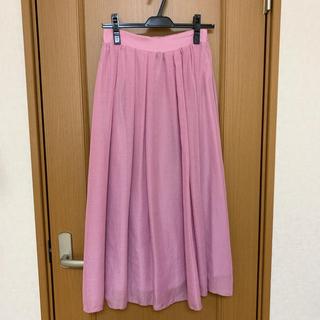 アーバンリサーチロッソ(URBAN RESEARCH ROSSO)の新品タグ付☆アーバンリサーチロッソ ギャザーロングスカート(ロングスカート)