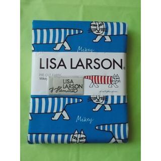 リサラーソン(Lisa Larson)のリサラーソン Lisa Larson 1m生地 Mikey ブルー(生地/糸)