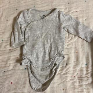 エイチアンドエム(H&M)のH&M ロンパース 肌着50 0-1m 新生児 肌着(肌着/下着)
