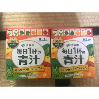 イトウエン(伊藤園)の伊藤園 毎日一杯の青汁 一箱580円(青汁/ケール加工食品)