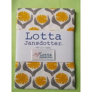 リサラーソン(Lisa Larson)のLotta Jansdotter 手芸用生地 DRIVA イエロー花(生地/糸)