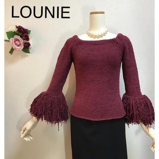 ルーニィ(LOUNIE)のルーニィ 個性派の貴方に!お袖ボリュームいっぱいのトップス (ニット/セーター)