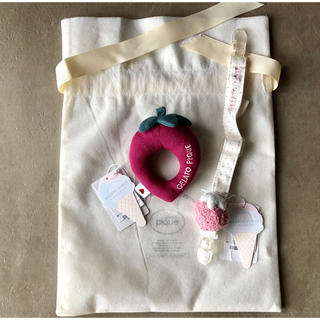 ジェラートピケ(gelato pique)のジェラートピケ 出産祝い プレゼントに(がらがら/ラトル)