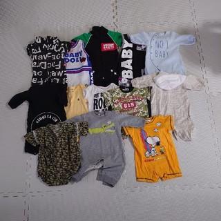 ベビードール(BABYDOLL)の赤ちゃん 服 コムサ ベビードール スヌーピー(ロンパース)