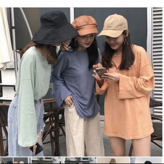 ゴゴシング(GOGOSING)の韓国ファッション オレンジ ロンT(Tシャツ(長袖/七分))