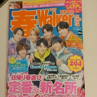 カドカワショテン(角川書店)の2020春Walker 雑誌 (地図/旅行ガイド)