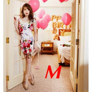 デイジーストア(dazzy store)のミニドレス 花柄 デイジーストア Mサイズ(ミニドレス)
