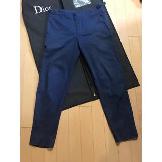 ディオールオム(DIOR HOMME)の最終値下げ Dior homme ディオールオム コットンパンツ(スラックス)