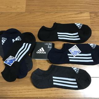 adidas - adidas☆つま先 かかと補強‼️靴から見えにくい靴下24〜26
