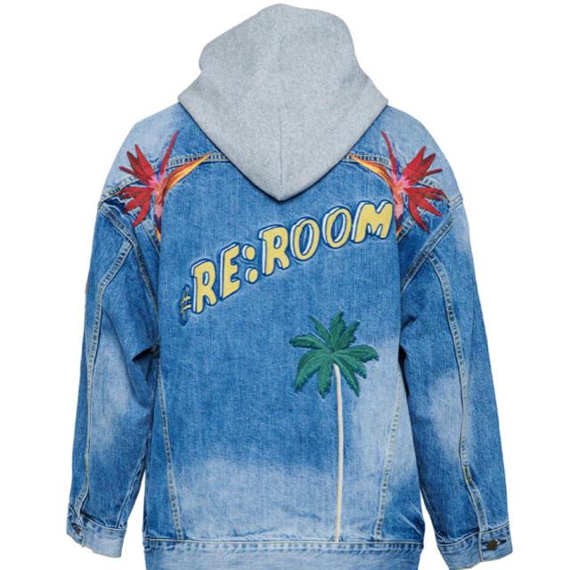Ron Herman(ロンハーマン)のRe room デニムジャケット Sサイズ オーバー メンズのジャケット/アウター(Gジャン/デニムジャケット)の商品写真
