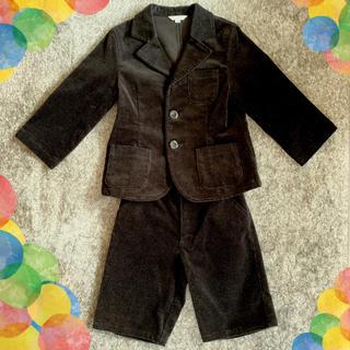 エニィファム(anyFAM)のanyFAM ベロア素材スーツ上下セット(ドレス/フォーマル)
