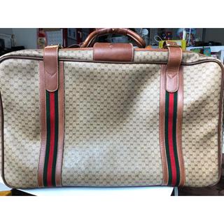 グッチ(Gucci)のGUCCI トラベルバック(トラベルバッグ/スーツケース)