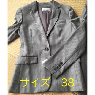 エムプルミエ(M-premier)のパンツスーツ セットアップ グレー(スーツ)