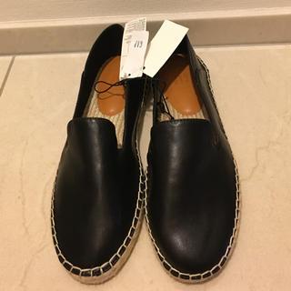 GAP - GAP 靴 (モカシン⚫︎エスパドリーユ⚫︎スリッポン)ブラック【新品】