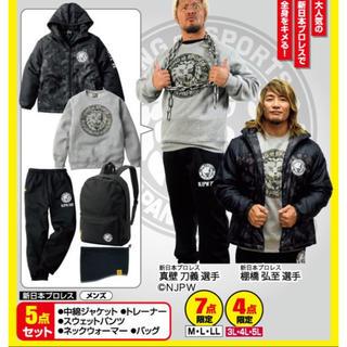 シマムラ(しまむら)の新品未開封!新日本プロレス ダウンジャケット Lサイズ(格闘技/プロレス)