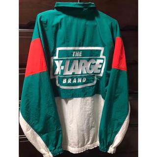 XLARGE - 名作 2018ss エクストララージ ナイロンジャケット 緑 L 貴重サイズ