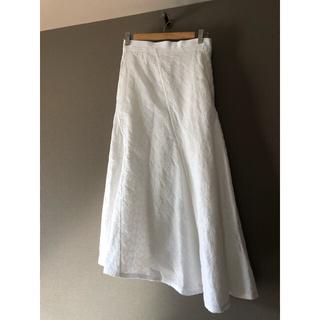 Drawer - 美品 blaminkブラミンク エンブロイダリーカットワークレースロングスカート