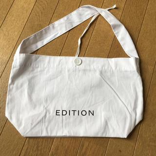 エディション(Edition)のエディション ショップバッグ(ショップ袋)