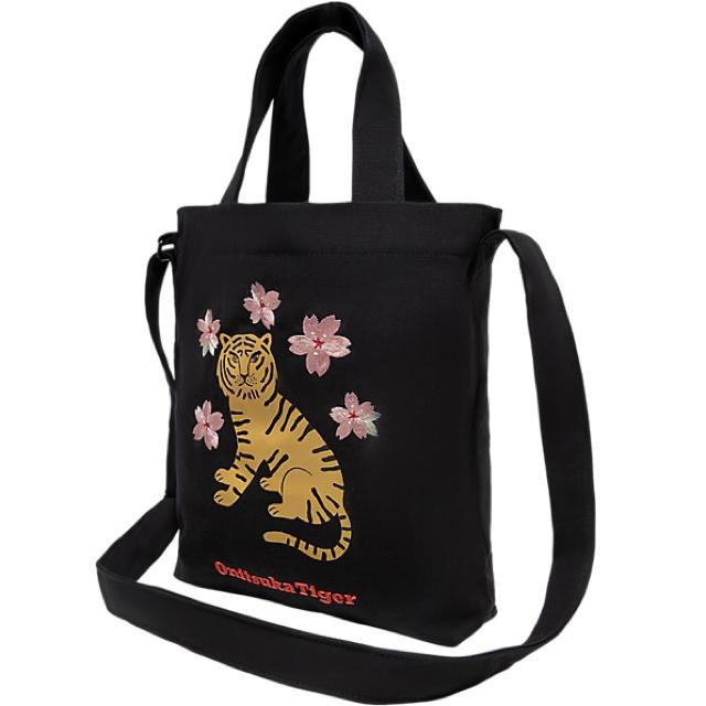 Onitsuka Tiger(オニツカタイガー)のオニツカタイガー キャンバスショルダーバッグ メンズのバッグ(トートバッグ)の商品写真