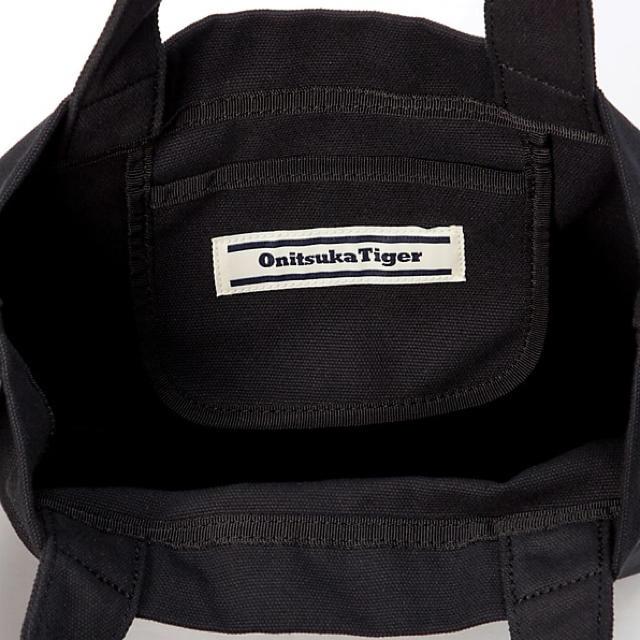 Onitsuka Tiger(オニツカタイガー)のオニツカタイガー TIGER TOTE キャンバスショルダーバッグ メンズのバッグ(トートバッグ)の商品写真