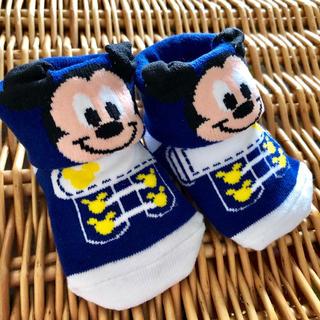 ディズニー(Disney)のTDL ミッキー ベビー用ソックス 13cm(靴下/タイツ)
