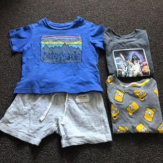 パタゴニア(patagonia)のパタゴニア 6〜12m Tシャツ など 4点セット(Tシャツ)