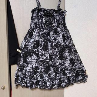Avail - 新品◆ アベイル*胸元シャーリング♡シフォンフリルキャミワンピ