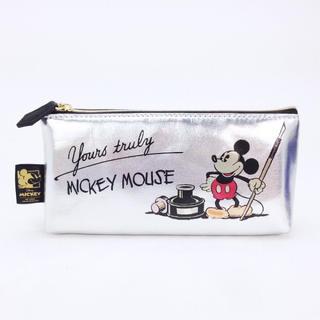 ミッキーマウス(ミッキーマウス)のミッキー  フラットペンポーチ (ポーチ)