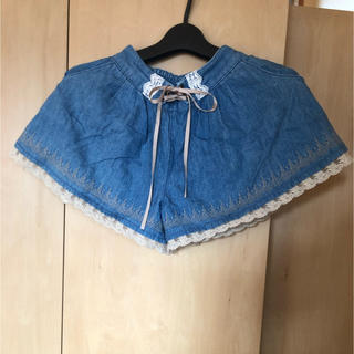 axes femme - axces kids  アクシーズファム ショートパンツ  キュロット 130㎝