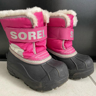 ソレル(SOREL)のSOREL ソレル スノーブーツ キッズ 14cm(ブーツ)