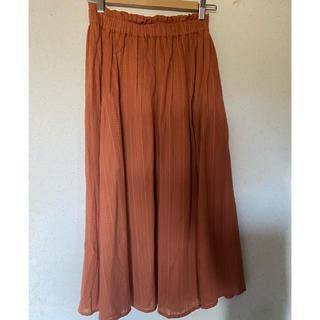 カージュ(Khaju)のkhaju可愛いレディースロングスカート 綿100% フリー(ロングスカート)