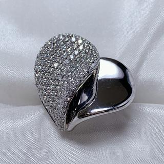 ポンテヴェキオ(PonteVecchio)のポンテヴェキオ k18wg ダイヤファッションリング(リング(指輪))