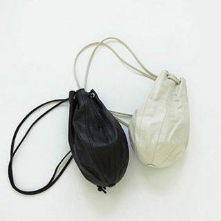 トゥデイフル(TODAYFUL)のtodayful  レザーナップサック Leather Knapsack(ショルダーバッグ)