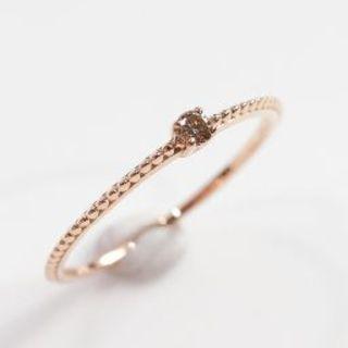 トクトク 新品 未使用 メイジュエリー ダイヤモンド 18金 リング(リング(指輪))
